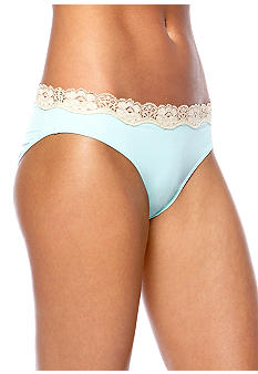 ND Intimates Cross Dye Lace Microfiber Bikini - B91192P