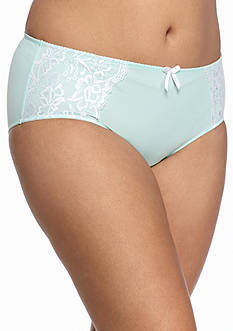 New Directions Intimates Plus Size Micro Lace Brief - BR5289XP