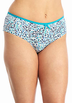 New Directions Intimates Plus Size Printed Modern Micro Briefs - BR5290XP