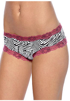 ND Intimates Cross-Dye Lace Tanga - H91137P