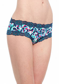 New Directions Intimates Printed Lace Trim Hipster - H91137P