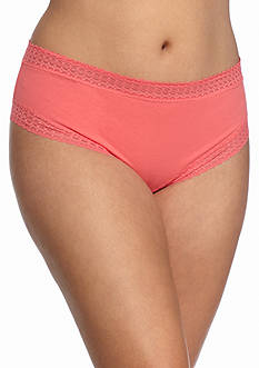 New Directions Intimates Plus Size Cotton Tanga - H91276XP