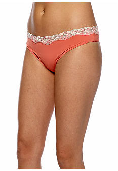 ND Intimates Lace Trim Thong - T91120P