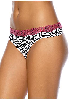 ND Intimates Cross-Dye Print Thong - T91136P