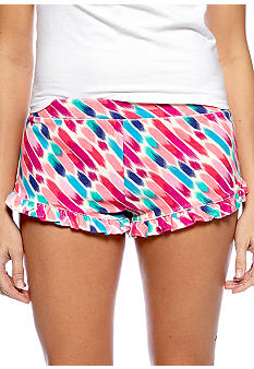 Steve Madden Terry Printed Sleep Short