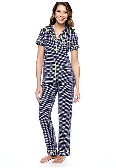 Disney Notch Collar Pajama Set