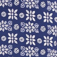 Women: Chemise Sale: Floral Blue Print New Directions Intimates Lace Tank Chemise