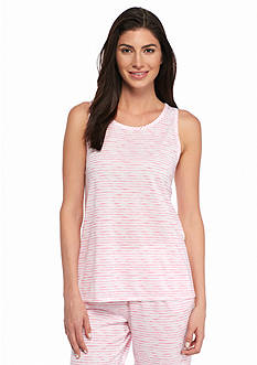 New Directions Intimates Silky Jersey Printed Tank