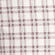 Designer Pajamas for Women: Beet Red Plaid Tommy Hilfiger Basic Long Print Pants