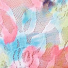 Women's Bikini Underwear: Floral Delight/Turquoise Perfects Australia Carnaval Bikini - 14UBK17