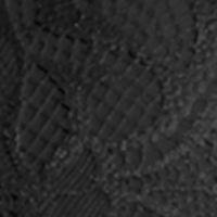 Full Figure Bras: Black Perfect Australia Delightfuls Lace Convertible Contour Bra -14UBR051