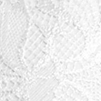 Full Figure Bras: White Perfect Australia Delightfuls Lace Convertible Contour Bra -14UBR051