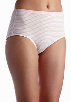 Hanes Platinum Cotton Creations Nude Brief 4 Pack - 40C4WD