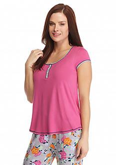 Layla Short Sleeve Henley Top
