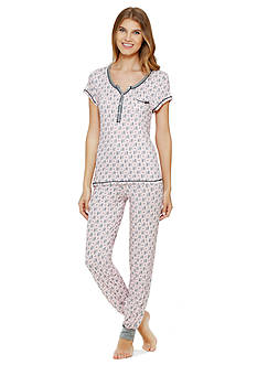Layla Short Sleeve Pajama Set