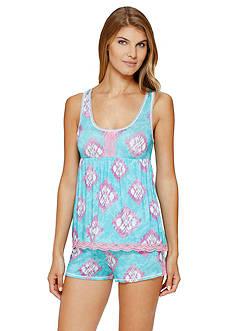 Layla Geo Tie Dye Short Pajama Set
