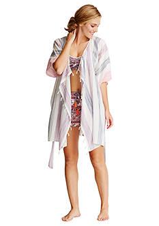 Lucky Brand Summer Kimono Wrap Robe