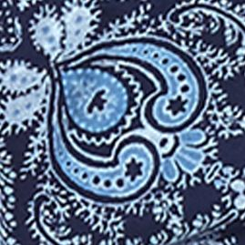 Designer Pajamas for Women: Indigo Lucky Brand Scroll Print Shorts