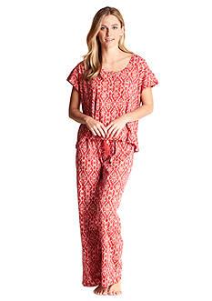Lucky Brand Knit Tee Jay Pajama Set