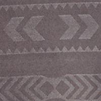 Womens Designer Sleepwear and Robes: Dark Gray Beacon Lauren Ralph Lauren Embossed Active Long Sleeve Zip Hoodie