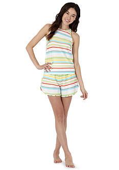 Echo Striped Short Pajama Set