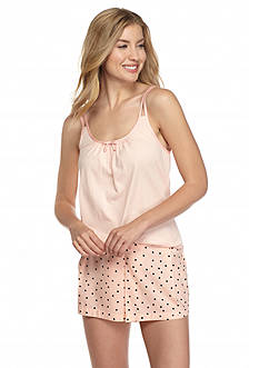 kate spade new york Tank Skort Dot Pajama Set