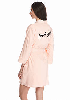 kate spade new york Goodnight Terry Lined Robe