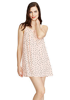 kate spade new york Dot Satin Chemise