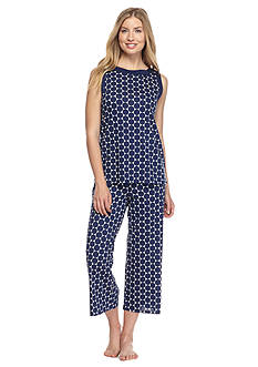 kate spade new york Sleeveless Crop Tank Pajama Set
