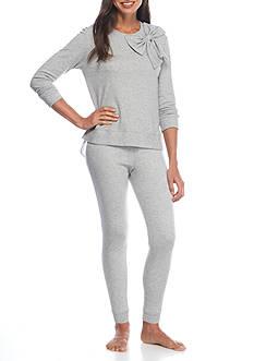 kate spade new york Bow Pajama Set with Shirttail