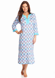 New Directions Intimates Printed Caftan