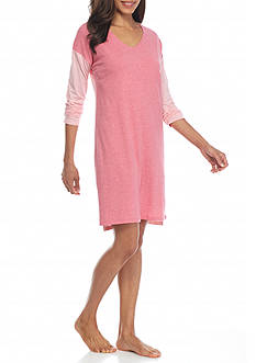 Nautica Three Quarter Sleeve Sleepshirt