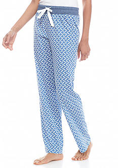 Nautica Brush Jersey Dot Pant