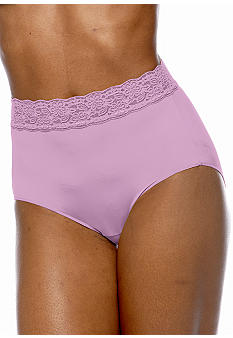 Bali One Smooth U Lace Brief - 24A4