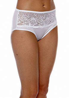 Bali One Smooth u® Comfort Indulgence Satin Lace Hipster
