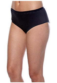 Bali Comfort Indulgence Cotton with Lace Hipster - 2784
