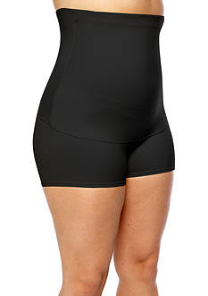 Maidenform&reg; Plus Size Fat Free Dressing High-Waist Boyshort - 12107<br>