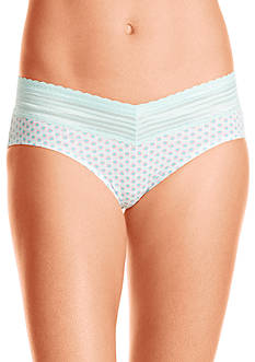 Warner's No Pinching. No Problems. Lace Cotton Hipster - RU1091P