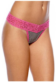 Maidenform One Size Fits All Regular Rise Thong - 40118