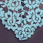 Designer Bridal Lingerie: Peacoat/Gulf Stream Wacoal Embrace Lace Chemise - 814191