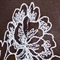 Women's Chemise Sleepwear: Black/Raindrop Wacoal Fragile Drama Chemise - 814250