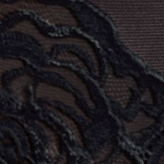 Designer Underwear for Women: Black Wacoal Sheer Enough Brief - 845253