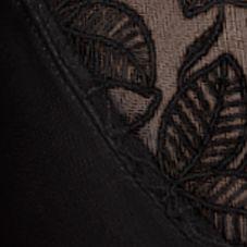 Plus Size Lingerie: Minimizer: Black Wacoal Elegance Full Figure Minimizer - 85122