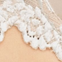 Average Figure Bra: Natural Nude Wacoal Embrace Lace Contour Bra - 853191