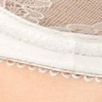 Plus Size Lingerie: Hard To Find Sizes: Ivory Wacoal Retro Chic Full Figure Underwire Bra - 855186