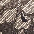 Plus Size Lingerie: Full Figure: Black Lilyette Beautiful Lace Minimizer Bra- LY0977