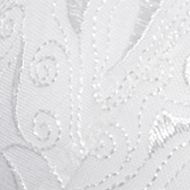Women: Full Figure Sale: White Playtex Secrets Side Smoothing Embroidered Underwire Bra - 4513
