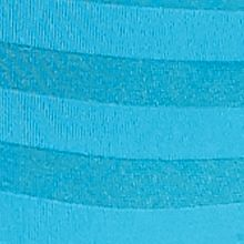 Women's Bikini Underwear: Turquoise Pool Jockey Matte Shine Bikini - 1305