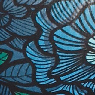 High-cut Underwear for Women: Tropical Floral/Leaf Jockey No Panty Line Promise Hi-Cut Brief - 1338