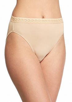Jockey Super Soft French Cut Lace Waist Brief - 2102
